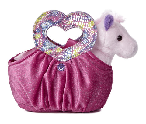Fancy Pals Heartfelt Pink Pet Carrier a32737