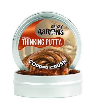 Logical Toys Aarons Thinking Putty - Copper Crush Putty ca-cr011