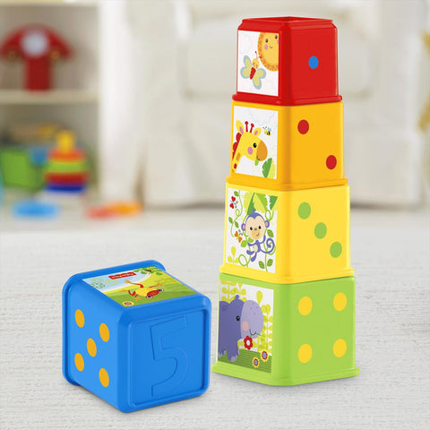 Fisher Price Stack & Explore Blocks cdc52