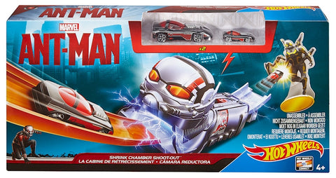 Hotwheels Marvel Ant-Man Shrink Chamber Shoot-Out cdf923