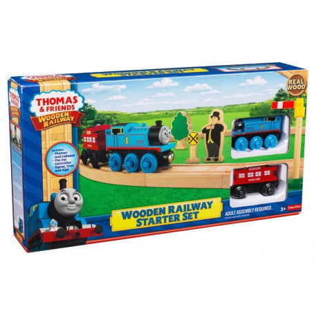Thomas and Friends Wooden Railway Starter Set y5854