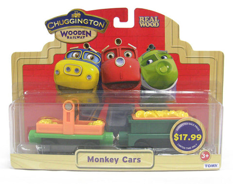 Chuggington Monkey Cars 56025