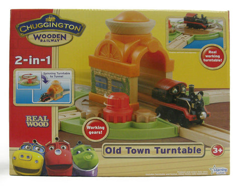 Chuggington Old Town Tunnel & Turntable 56904