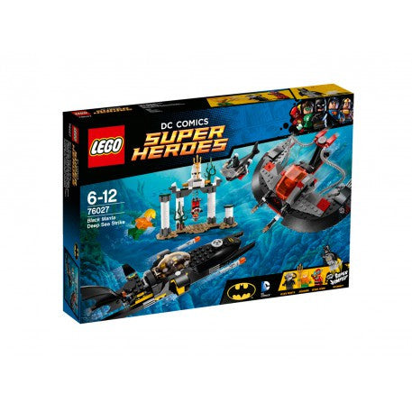 LEGO Super Heroes Black Mantra Deep Sea Strike - 76027