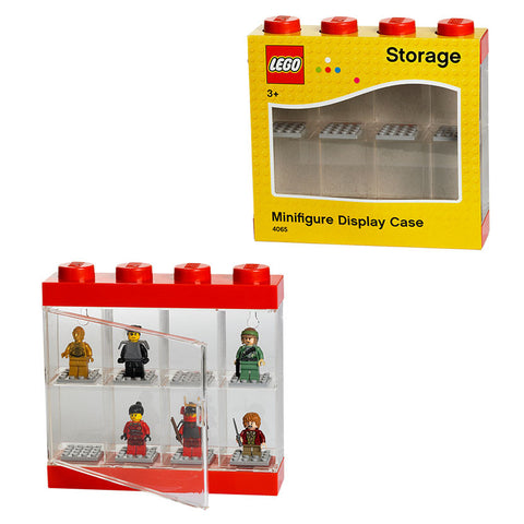 LEGO Minifigures LEGO Minifigure Small Display Case Red