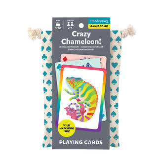 Playing Cards to Go - Crazy Chameleon
