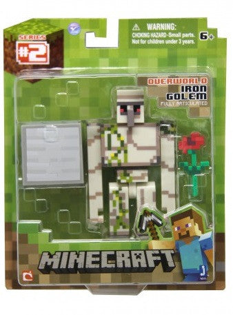 Minecraft Iron Golem with Accessory 16511hw