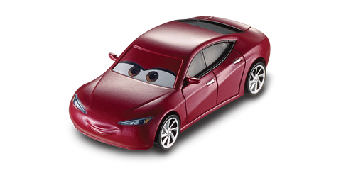 Mattel Cars 3 DC Single - Natalie Certain dxv2918-1