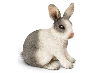 Schleich Rabbit, sitting sc13673