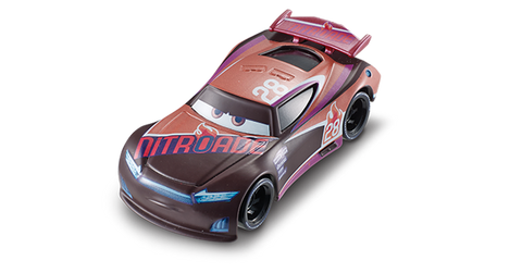 Mattel Cars 3 DC Single - Tim Treadless dxv2918