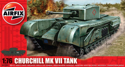 Airfix 1/76 Churchill Tank 201304h