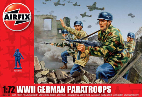 Airfix WWII German Paratroops 201753h
