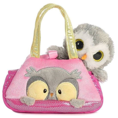 Fancy Pals Peek-a-Boo Owl Pet Carrier a32773