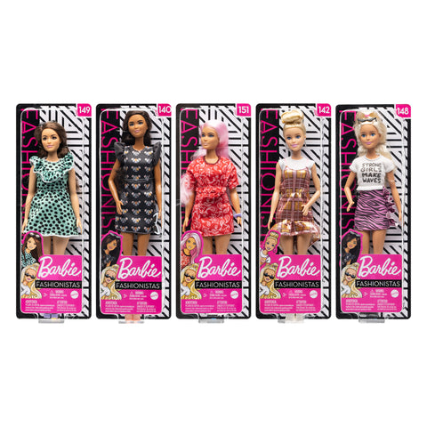 Barbie Fashionistas Asstd (New)
