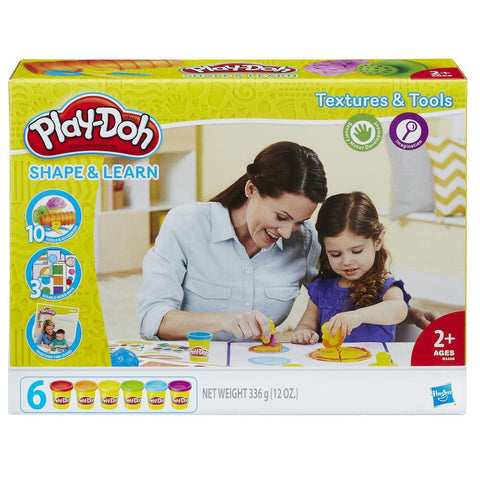 Play Doh Textures and Tools