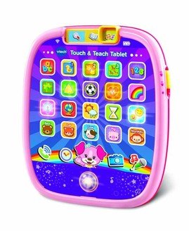 VTECH Touch & Teach Tablet - Pink