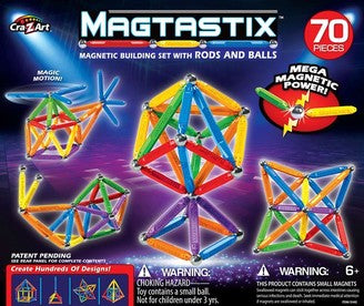Magtastix 70pc Balls and Rods