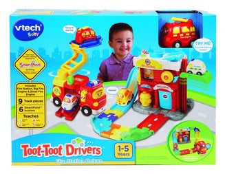VTECH Toot-Toot Drivers Fire Station h152803