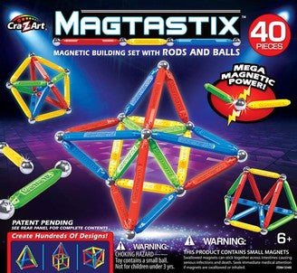 Magtastix 40pc Balls and Rods