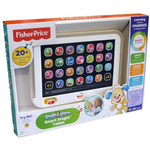 Fisher Price Laugh & Learn Smart Stages Tablet  Assorted chc74
