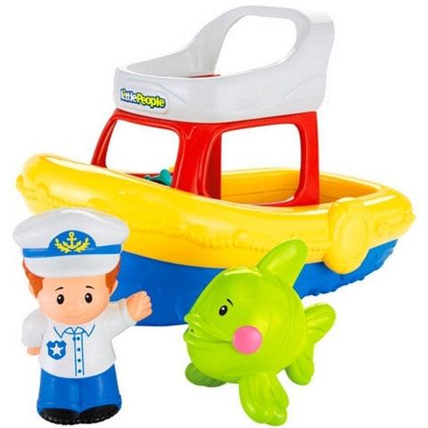 Fisher Price Little People - Ships Ahoy! Yacht dfn27