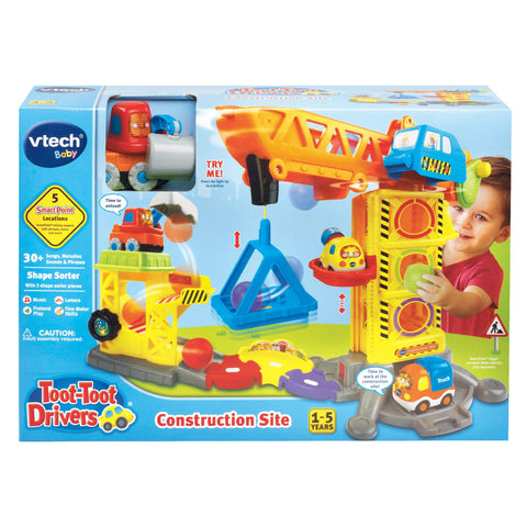VTECH Toot-Toot Drivers Construction Site h180103