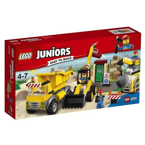 LEGO Juniors Demolition Site -10734