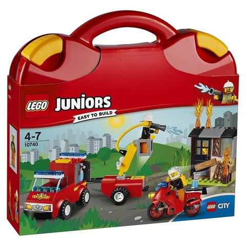 LEGO Juniors Fire Patrol Suitcase -10740