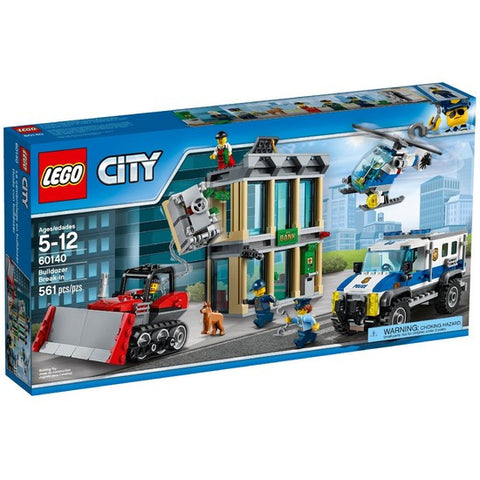 LEGO City Bulldozer Break-in - 60140