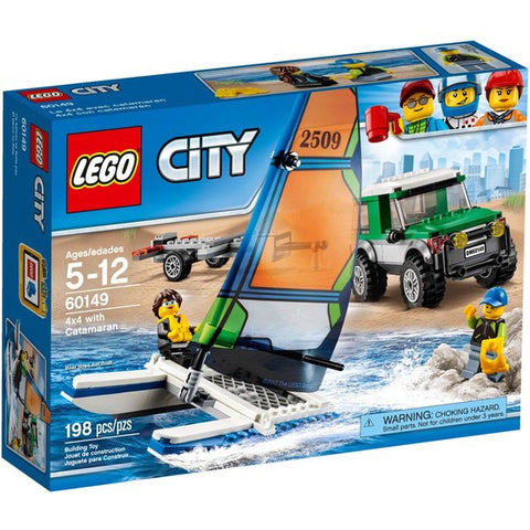 LEGO City 4x4 With Catamaran - 60149