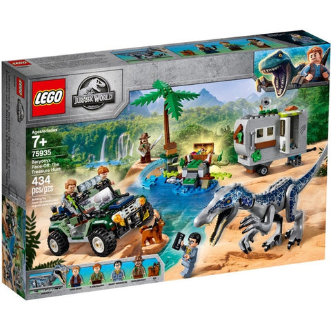 Baryonyx Face - Off - The Treasure Hunt - 75935