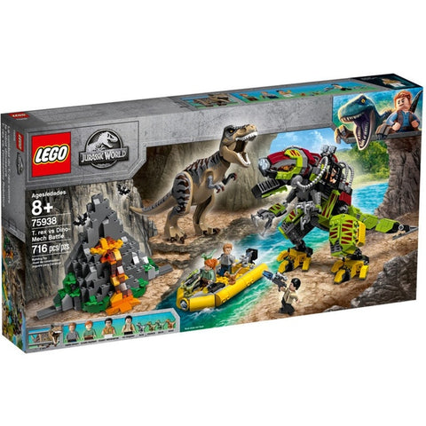 T Rex vs Dino Mech Battle - 75938