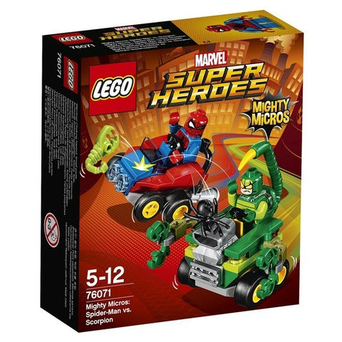 LEGO Super Heroes Mighty Micros Spider-Man vs Scorpion - 76071