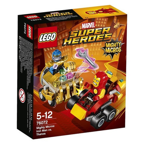 LEGO Super Heroes Mighty Micros Iron Man vs Thanos - 76072