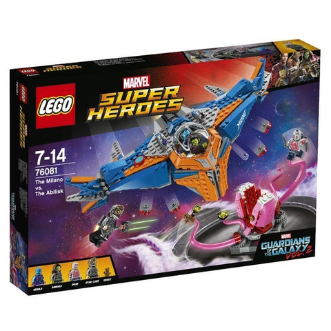 LEGO Super Heroes The Milano vs The Abilisk - 76081