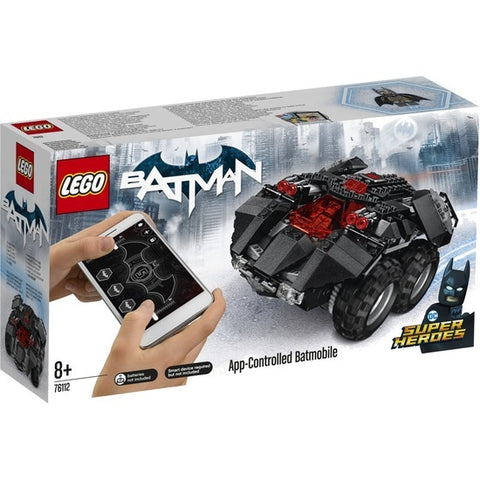 App-Controlled Batmobile - 76112