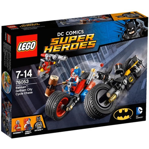LEGO Super Heroes Batman Gotham City Cycle Chase - 76053
