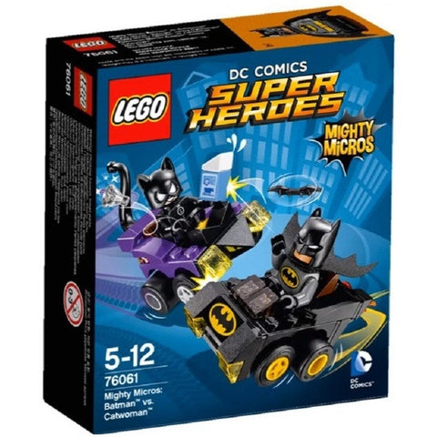 LEGO Super Heroes Mighty Micros Batman vs Catwoman - 76061