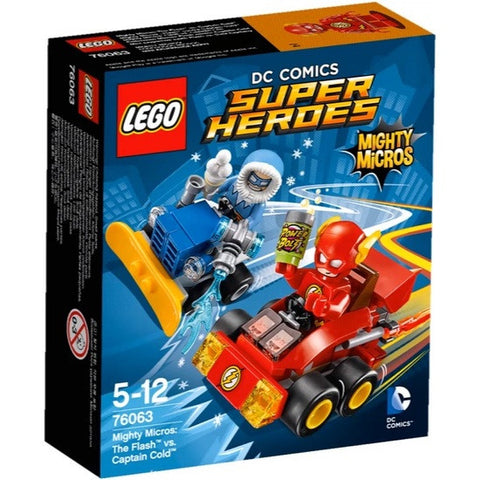 LEGO Super Heroes Mighty Micros The Flash vs Captain Cold - 76063