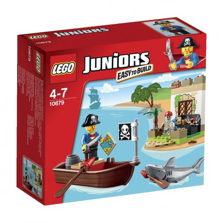 LEGO Juniors Pirate Treasure Hunt - 10679