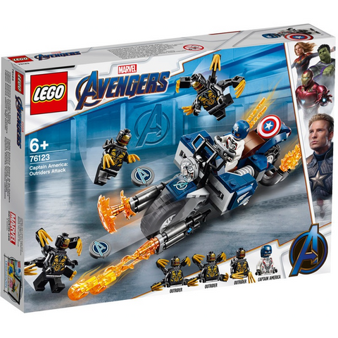 Captain America Outriders Attack - 76123