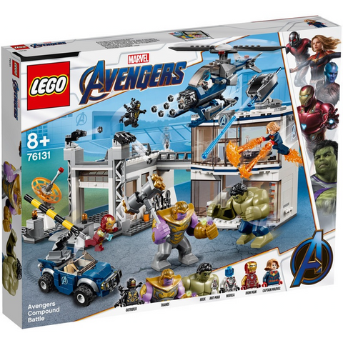 Avengers Compound Battle - 76131