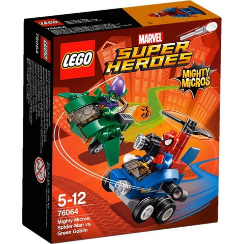 LEGO Super Heroes Mighty Micros Spider-Man vs Green Goblin - 76064