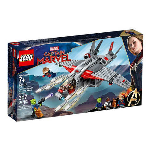 Captain Marvel and the Skrull Attack - 76127