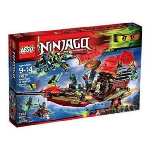 LEGO Ninjago Final Flight of Destiny's Boat - 70738