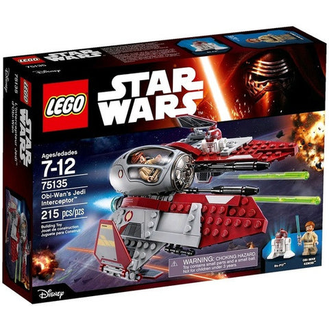 LEGO Star Wars Oib-Wan's Jedi Interceptor - 75135