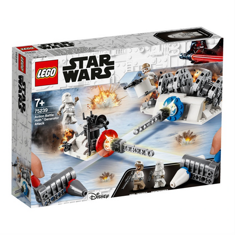 Action Battle Hoth Generator Attack - 75239