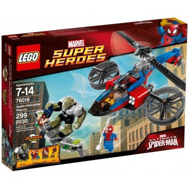 LEGO Super Heroes Spider-Helicopter Rescue - 76016