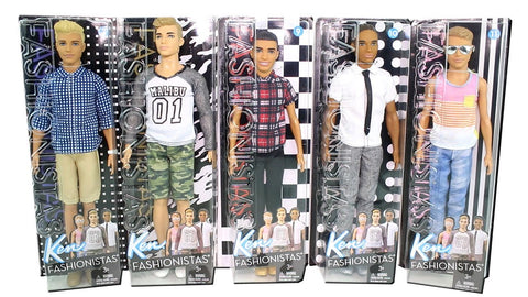 Ken Fashionistas Doll Assorted