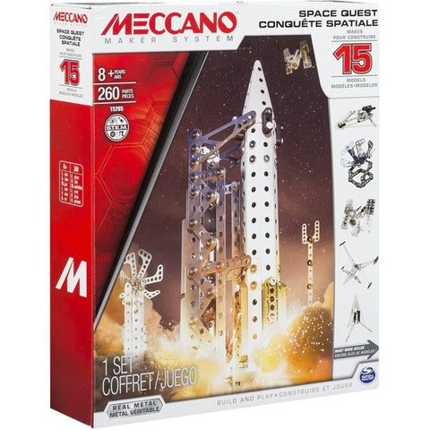 Meccano Space Quest 15 Model Set m6302